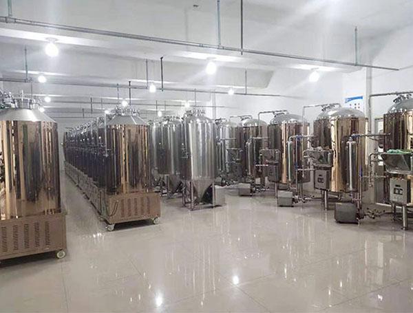 啤酒酿造设备-700L椎体发酵罐