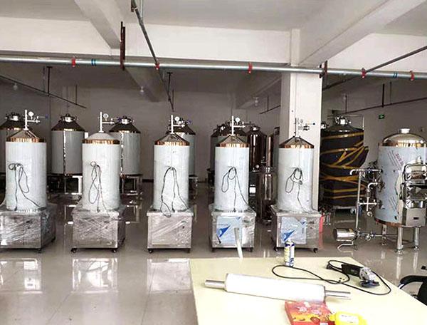 啤酒酿造设备-100L微型发酵罐