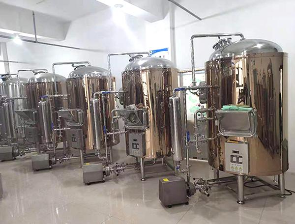 啤酒酿造设备-糖化系统
