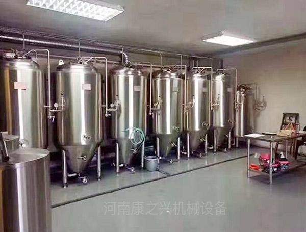 啤酒酿造设备-1000L发酵罐